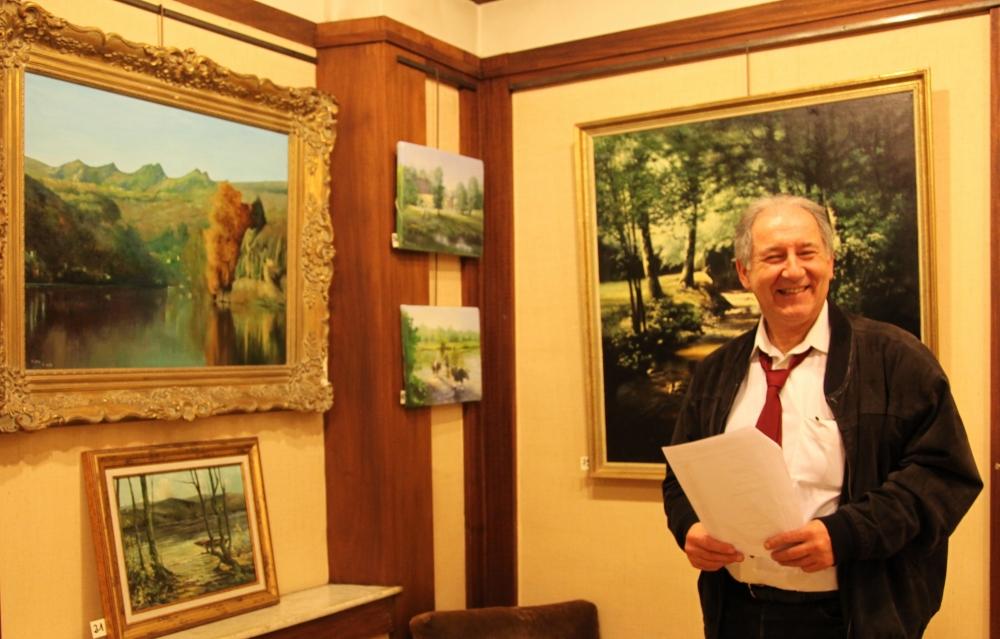 REVIN - Vernissage : Michel Josse expose l'Ardenne éternelle à la Galerie Rocheteau (2/2)