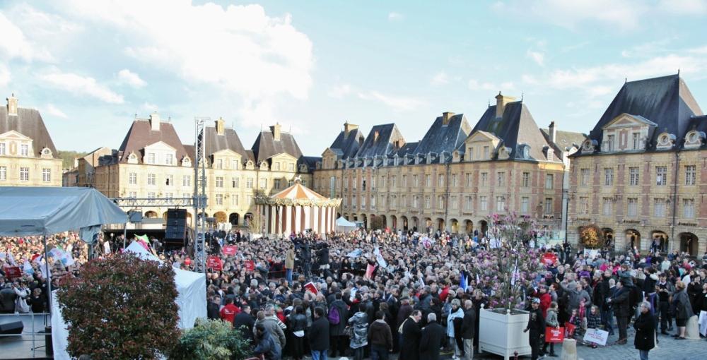 CHARLEVILLE-MEZIERES - Présidentielle : le « grand rêve émouvant » de François Hollande et des Français (2/5)