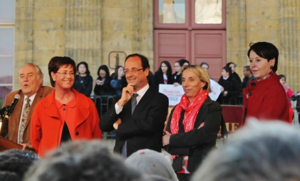 CHARLEVILLE-MEZIERES - Présidentielle : le « grand rêve émouvant » de François Hollande et des Français (1/5)