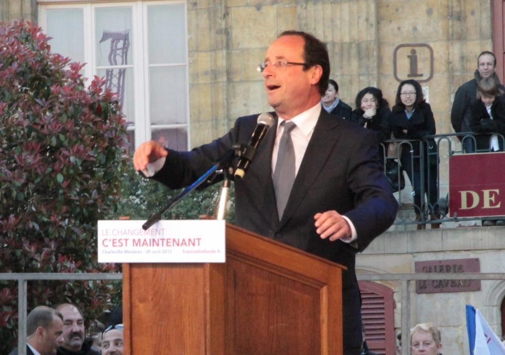 CHARLEVILLE-MEZIERES - Présidentielle : le « grand rêve émouvant » de François Hollande et des Français (3/5)