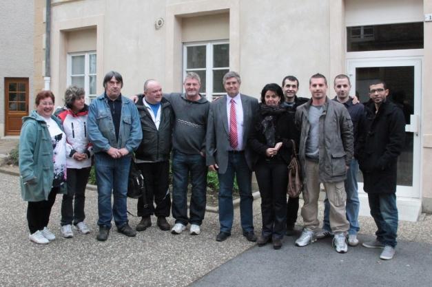 Réunion publique Philippe Vuilque législatives à Rocroi