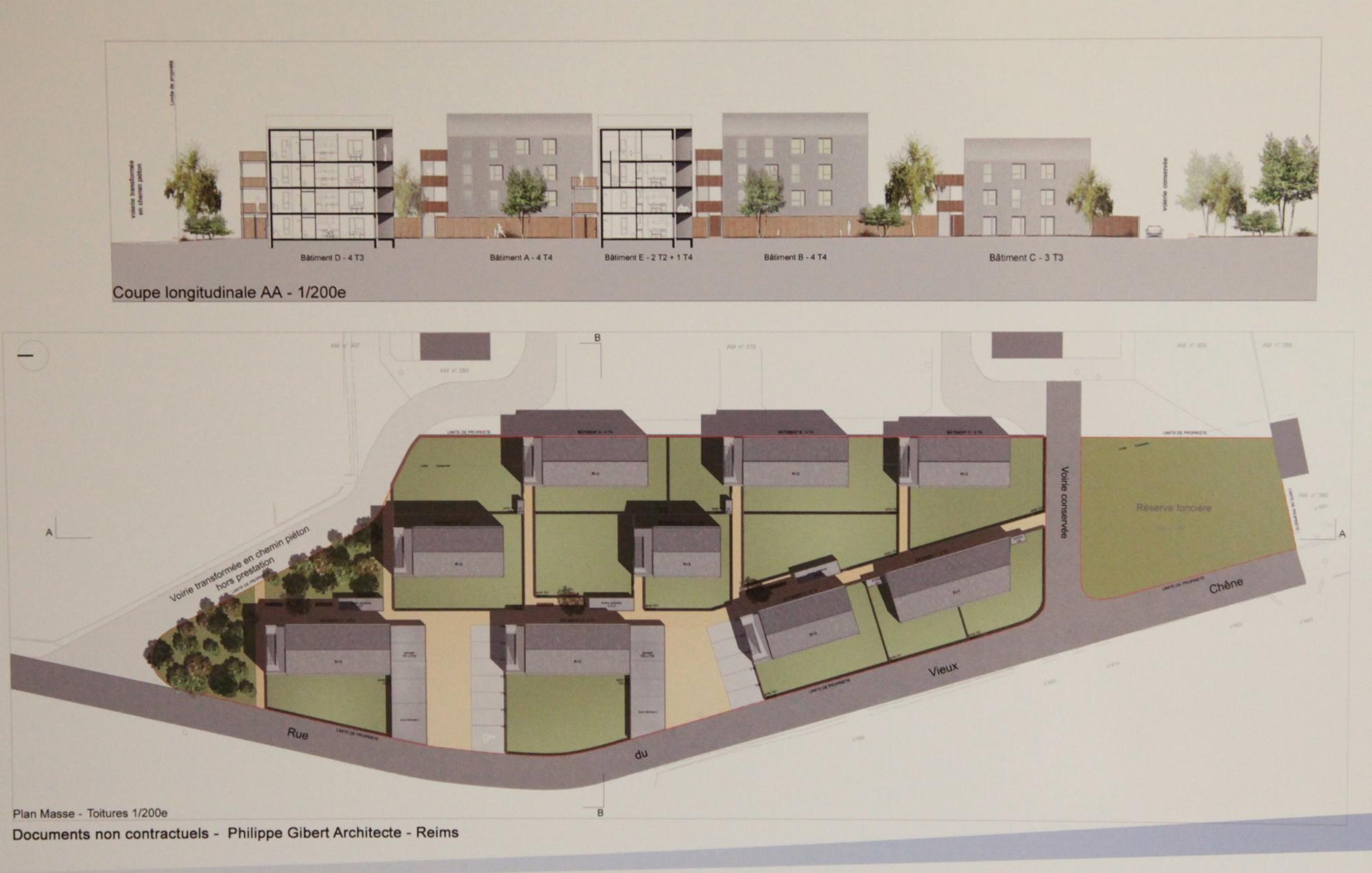 Revin anru les projets immobiliers la loupe for Construction habitat
