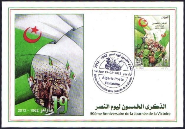 Pour les Algériens, le 19 mars 1962 est synonyme de victoire contre le colonialisme français.