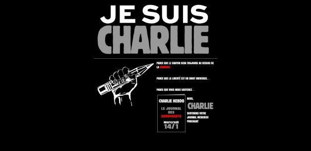 (Capture d'écran du site charliehebdo.fr)